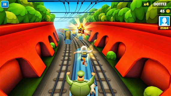 Subway Surf на компьютер