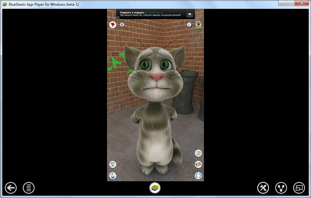 Игру Говорящий Кот Для Андроида