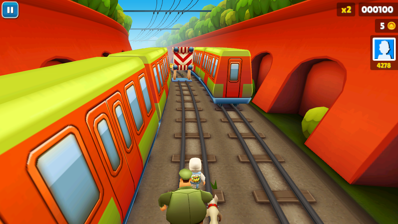 Subway Surfers на компьютер