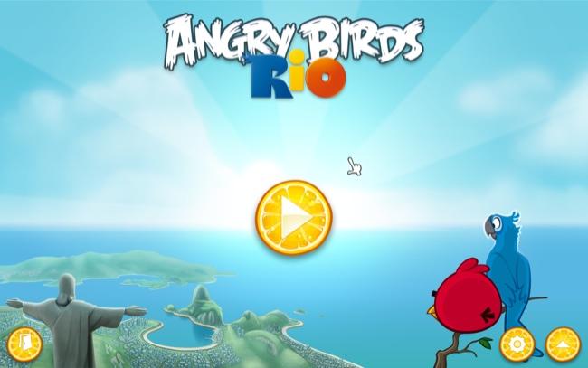 Angry Birds Rio на компьютер