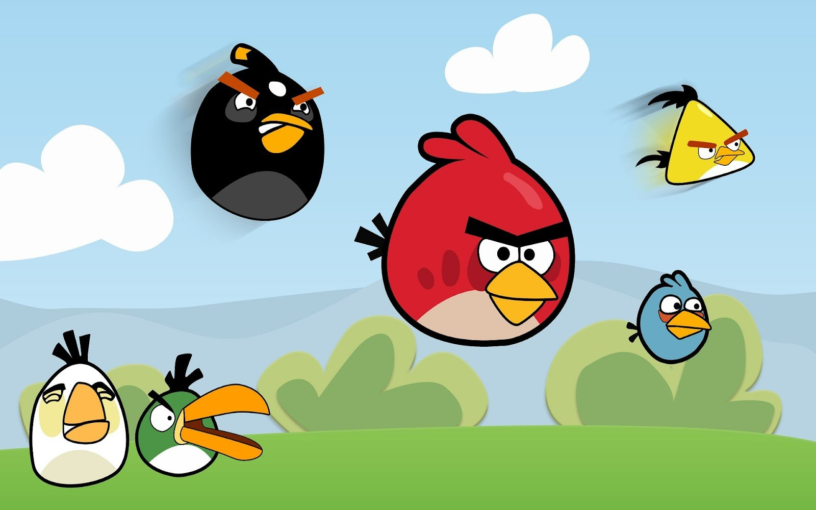 Angry Birds на компьютер