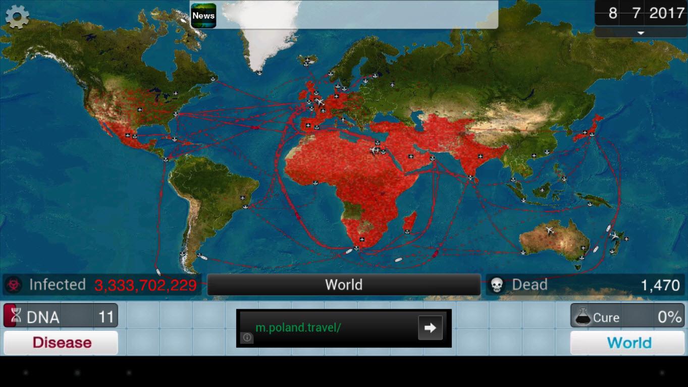 Plague Inc. на компьютер