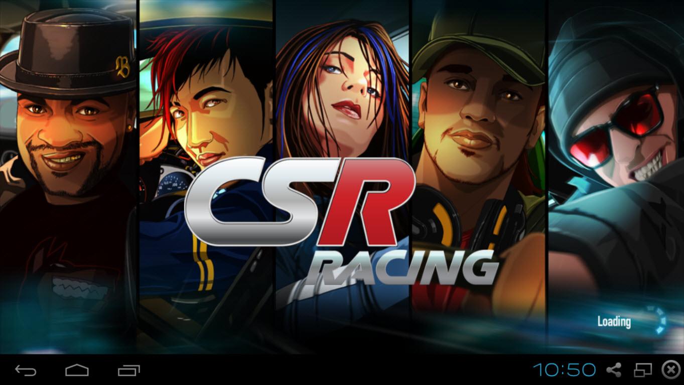 CSR Racing на компьютер