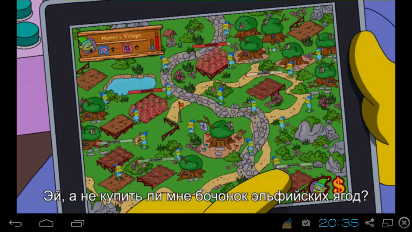 The Simpsons Tapped Out на компьютер