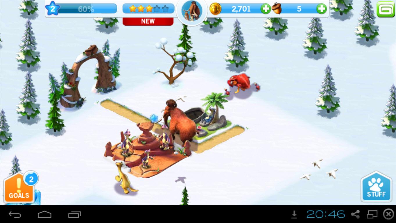 Игра Ледниковый период на компьютер