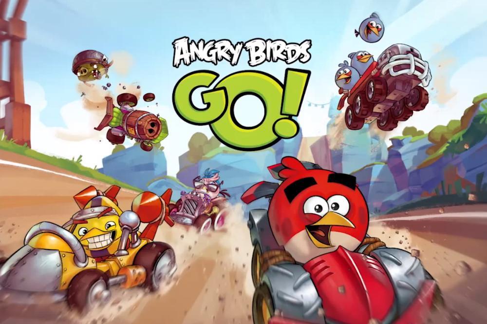 Angry Birds Go на компьютер