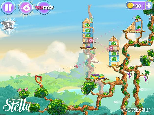 Angry Birds Stella на компьютер