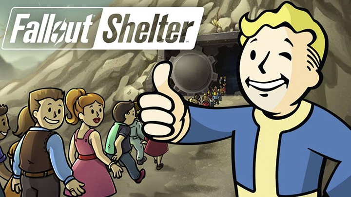 fallout shelter дети