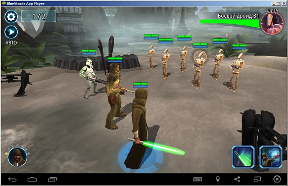 Star Wars: Galaxy of Heroes на компьютер