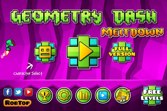 Geometry Dash Meltdown на компьютер