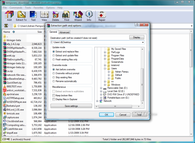WinRAR что это за программа