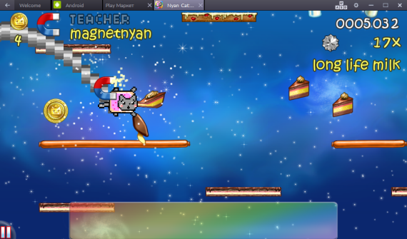 Nyan Cat: Lost In Space на PC