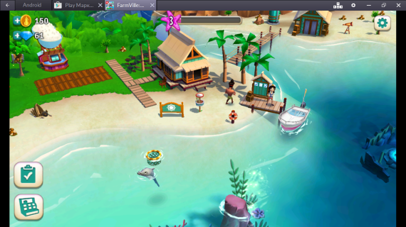 FarmVille: Tropic Escape на компьютер