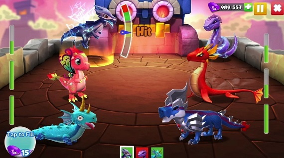 Скачать Dragon Mania Legends на ПК
