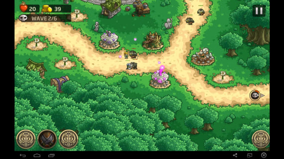 Kingdom Rush Origins через BlueStacks
