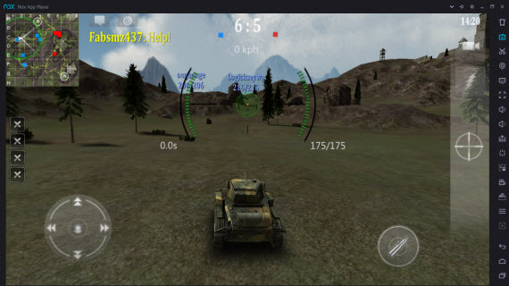 Armored Aces в Nox App Player