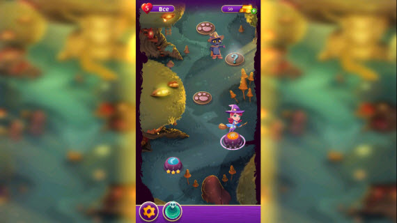 Bubble Witch 2,3 Saga Уровни