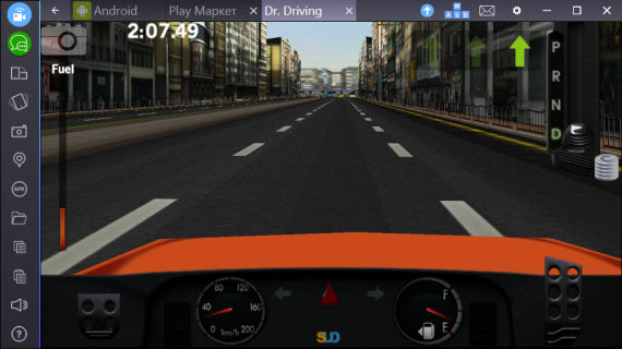 Dr. Driving BlueStacks
