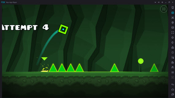 Geometry Dash World в Nox App Player