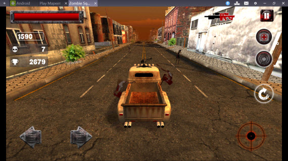 Zombie Squad в BlueStacks