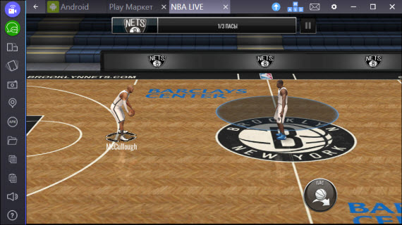NBA LIVE Mobile_BLUESTACKS2