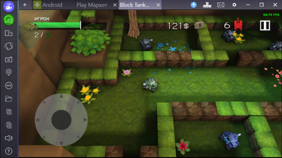 Block Tank Wars 2_BLUESTACKS2
