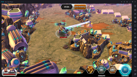 Forge of Titans Mech Wars_NOX APP PLAYER