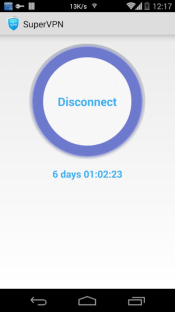 Super VPN_screen2