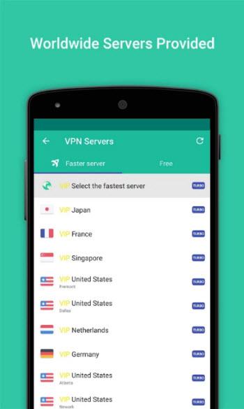 VPN Master_servers