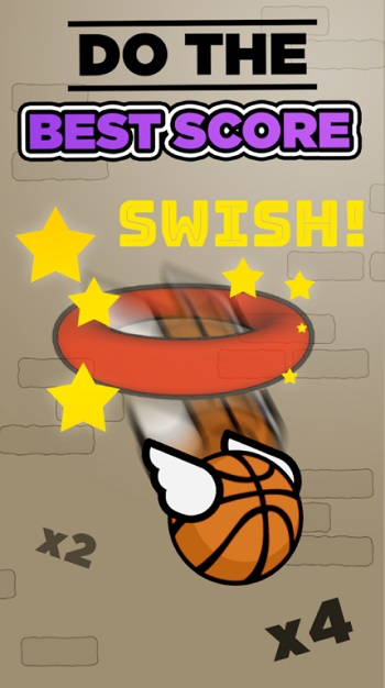 Flappy Dunk_screen1