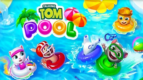 Talking Tom Pool_logo